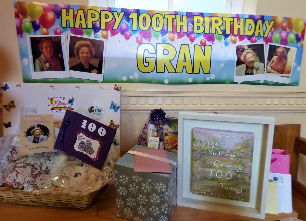 100th birthday for Eileen O' Brien